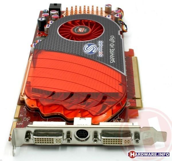 Sapphire Radeon HD 4850 512MB GDDR3