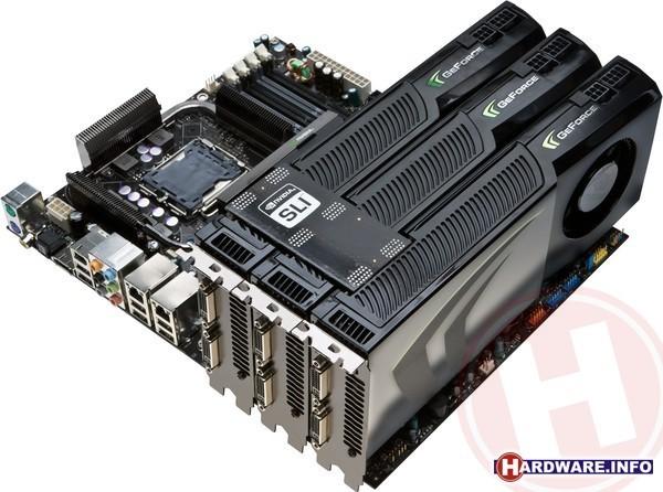 Nvidia GeForce GTX 280 3-way SLI