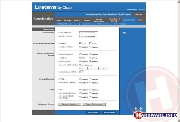 Linksys WRT610N Dual Band Wireless-N Gigabit Router