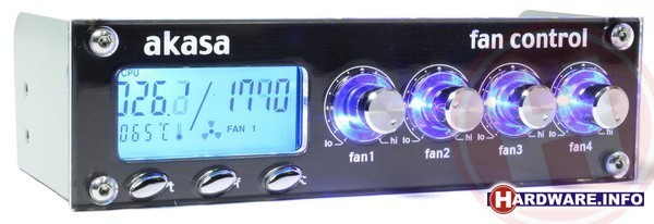 Akasa Fan Controller Pro Multi Color