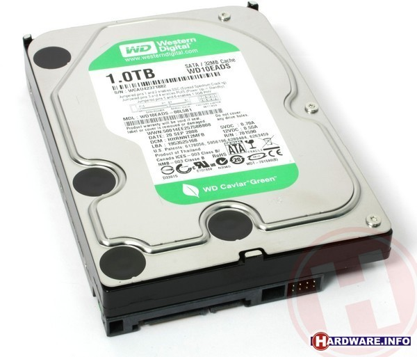 Western Digital Caviar Green 1TB (SATA2, 32MB)