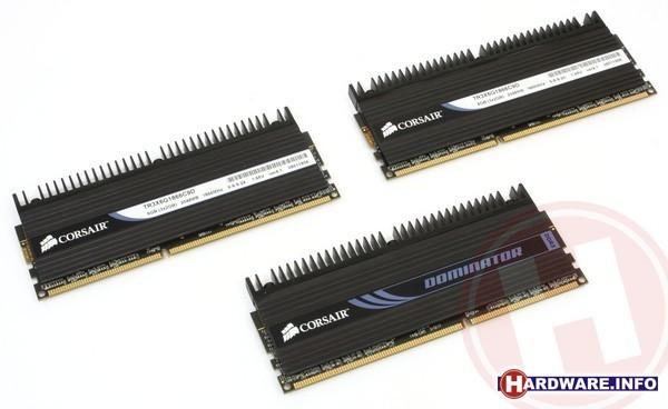 Corsair Triple3X Dominator 6GB DDR3-1866 CL9 triple kit