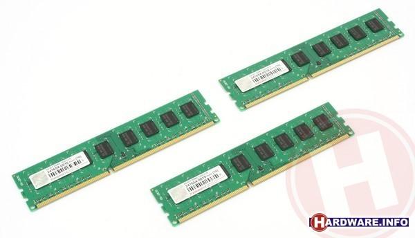 Transcend 6GB DDR3-1333 CL9 triple kit