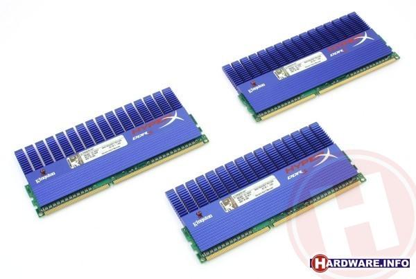 Kingston HyperX 3GB DDR3-2000 CL9 XMP triple kit