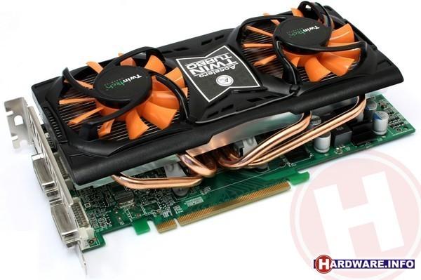 TwinTech GeForce GTS 250 AC TwinTurbo XT OC 512MB