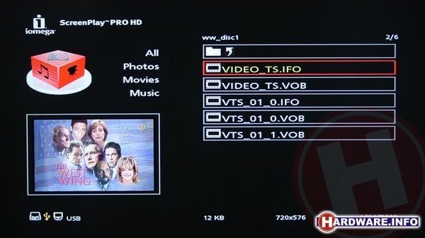 Iomega ScreenPlay Pro HD 500GB