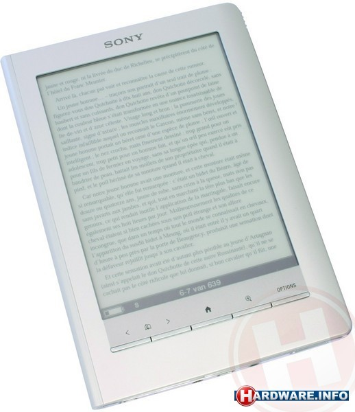 Sony Reader Touch Edition Silver