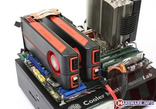 ATI Radeon HD 5850 CrossFireX
