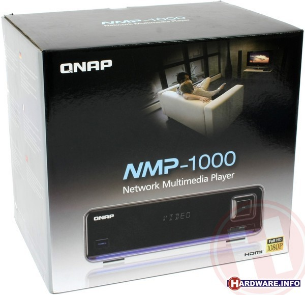 QNAP NMP-1000 Network Multimedia Player