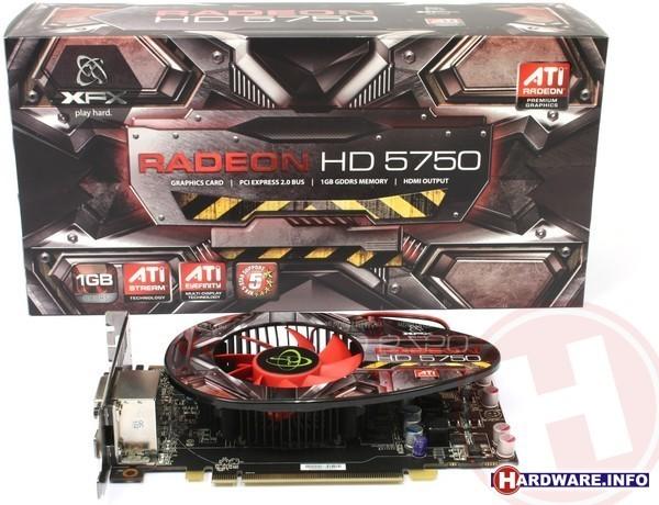 XFX Radeon HD 5750 1GB
