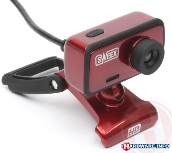 Sweex WC062 Webcam Red