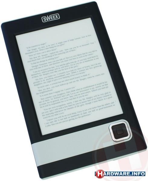 """Sweex MM300 eBook Reader 6"""" Black"""