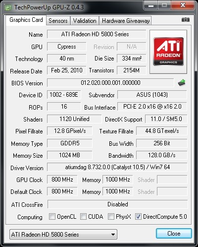 ATI Radeon HD 5830