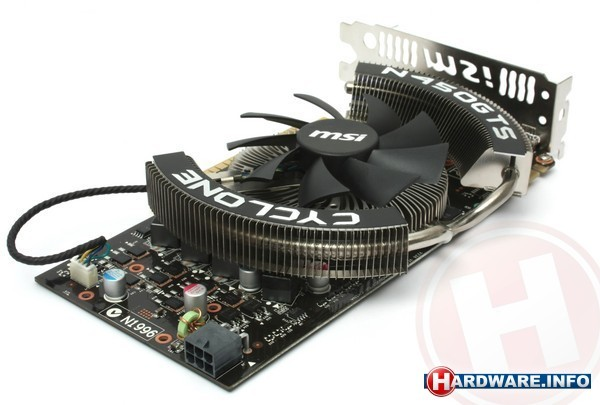 MSI N450GTS Cyclone OC 1GB
