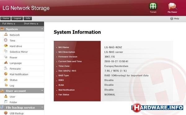 LG N2A2 2TB