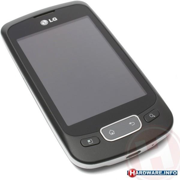 LG P500 Optimus One Black