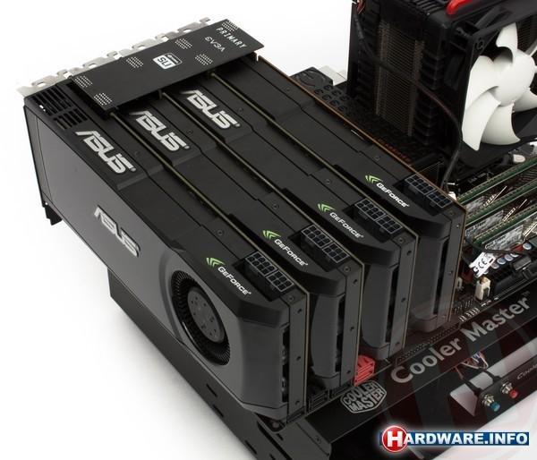 Nvidia GeForce GTX 580 SLI (4-way)
