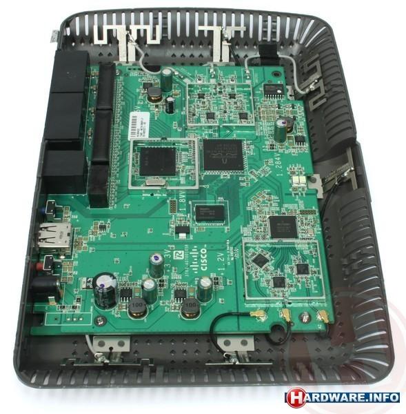 Linksys E4200 Maximum Performance Wireless-N Router