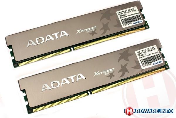 Adata XPG 4GB DDR3-1600 CL7 kit