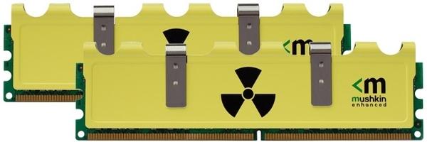 Mushkin Radioactive 4GB DDR3-1600 CL6-9 kit