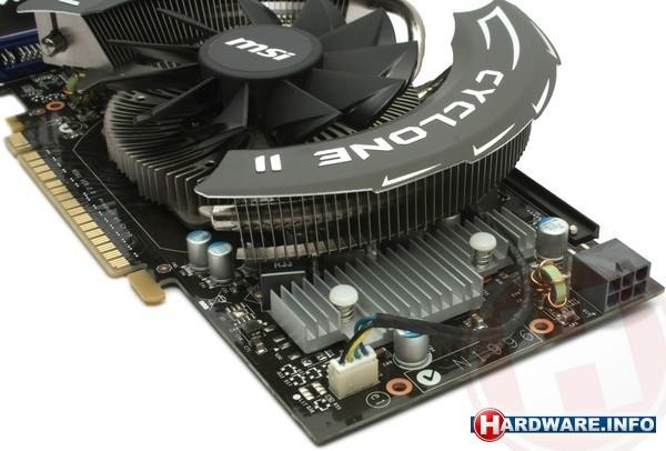 MSI N550GTX-Ti Cyclone II OC