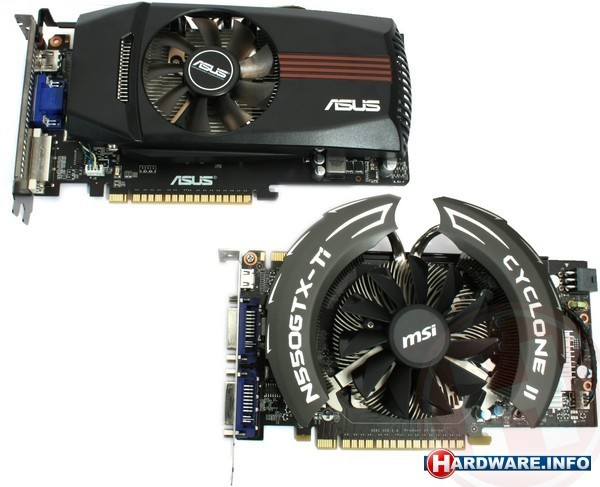Nvidia GeForce GTX 550 Ti SLI