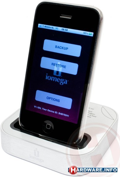 Iomega SuperHero Backup & Charger for iPhone