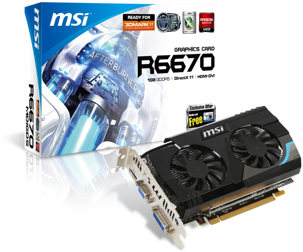 MSI R6670-MD1GD5