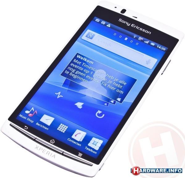 Sony Ericsson LT18I Xperia Arc S White