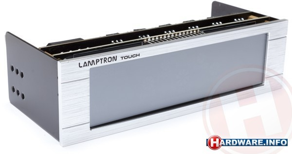 Lamptron Fan Controller Touch Silver