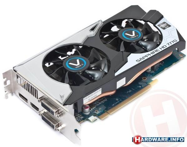 Sapphire Radeon HD 7770 GHz Edition Vapor-X 1GB