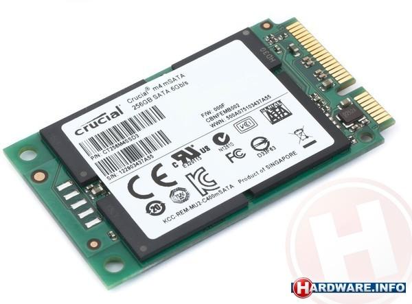 Crucial m4 256GB (mSata)
