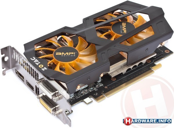 Zotac GeForce GTX 660 Ti AMP! Edition 2GB