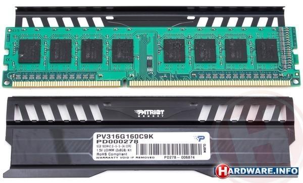Patriot Viper 3 Black Mamba Edition 16GB DDR3-1600 CL9 kit
