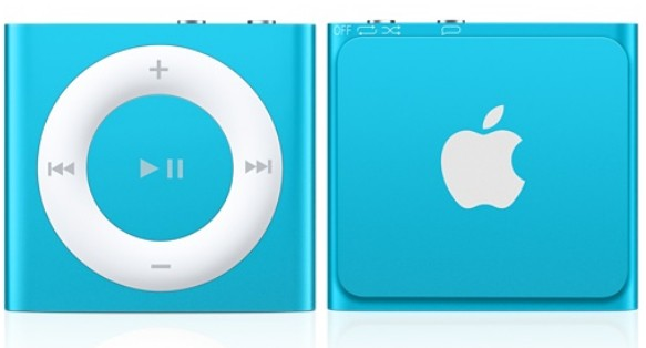 Apple iPod Shuffle V5 Blue