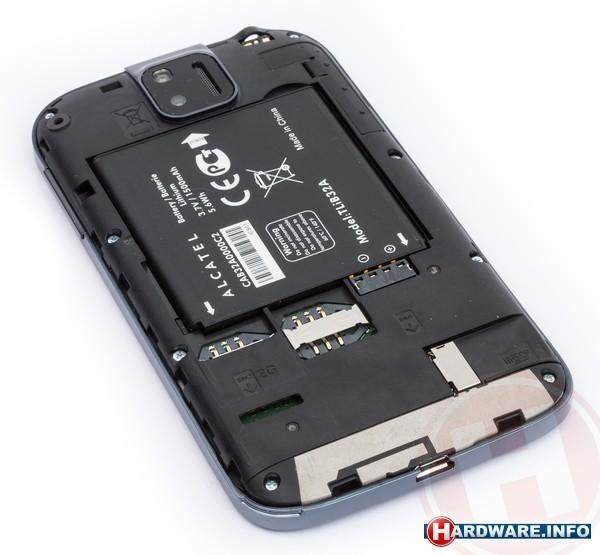 Alcatel One Touch 991D Black (dual sim)