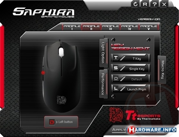 Tt eSports Saphira Black