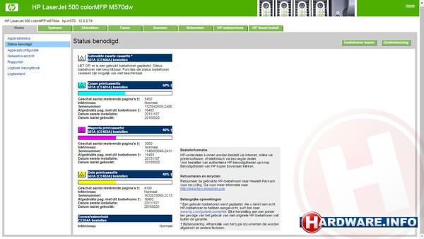 HP LaserJet Pro 500 Color M570dw