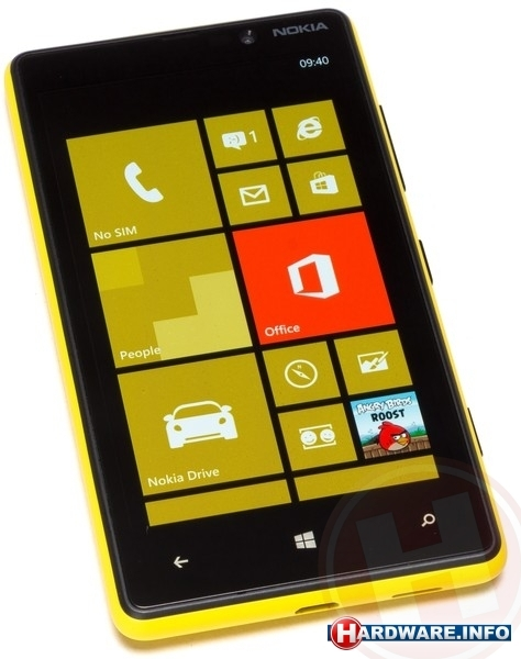 Nokia Lumia 820 Yellow