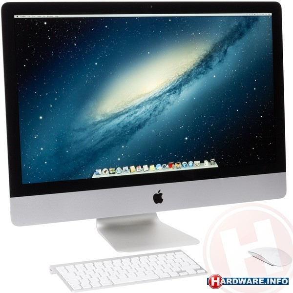 "Apple iMac 27"" (MD580N/A SSD test)"