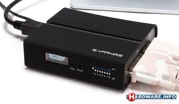 Sapphire VID-2X DisplayPort to dual DVI Display Expander