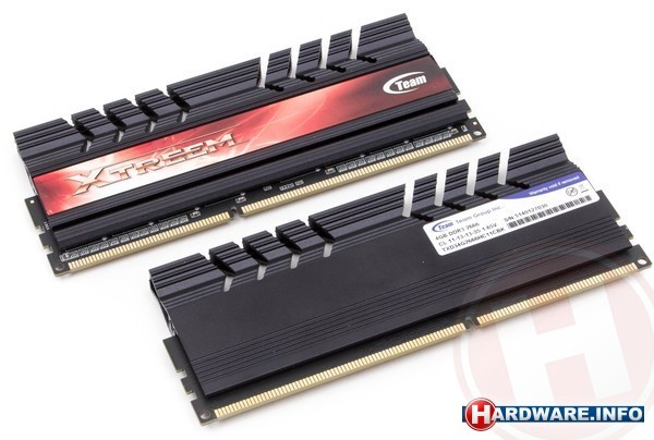 Team Xtreem 8GB DDR3-2666 CL11 kit