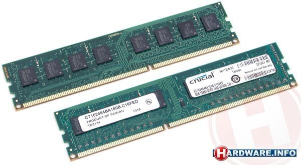 Crucial 8GB DDR3-1600 CL11