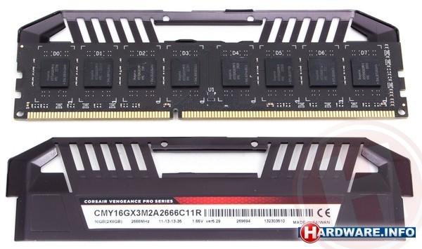 Corsair Vengeance Pro Red 16GB DDR3-2666 CL11 kit