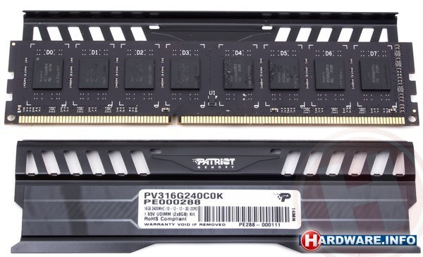 Patriot Viper 3 Black Mamba 16GB DDR3-2400 CL10 kit