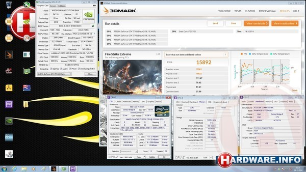 Nvidia GeForce GTX Titan Black SLI (4-way)