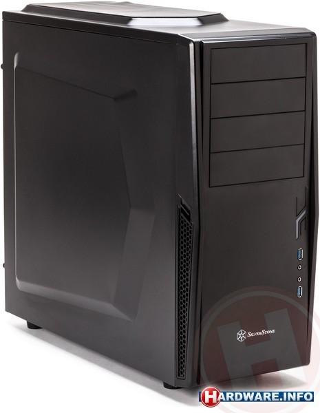 SilverStone Precision PS10 Black USB 3.0