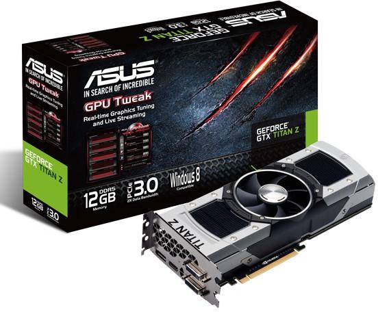 Asus GeForce GTX Titan Z 12GB