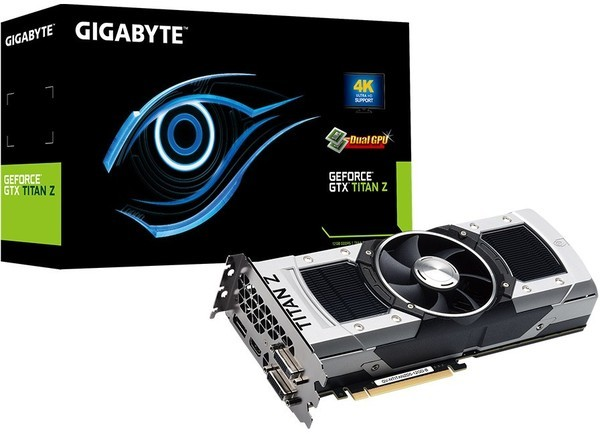 Gigabyte GeForce GTX Titan Z 12GB