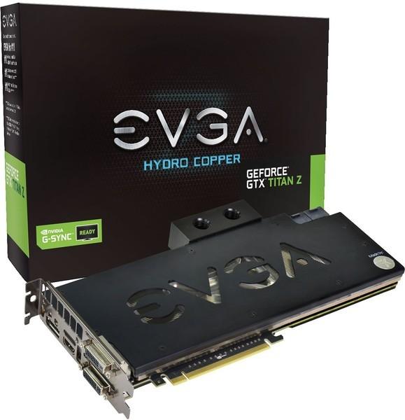 EVGA GeForce GTX Titan Z Hydro Copper 12GB